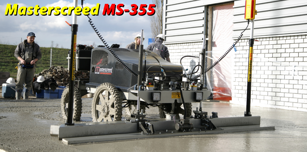 We currently have the Masterscreed MS335 to hire out